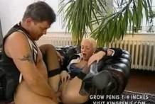 Куни и секс с зрелой немкой